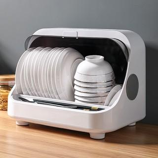 Tủ đựng bát đĩa diệt khuẩn ♥️ KHỬ TRÙNG BẰNG TIA UV GIÚP DIỆT 99.9% VI KHUẨN ♥️ Giá úp bát có nắp đậy chống bụi bẩn