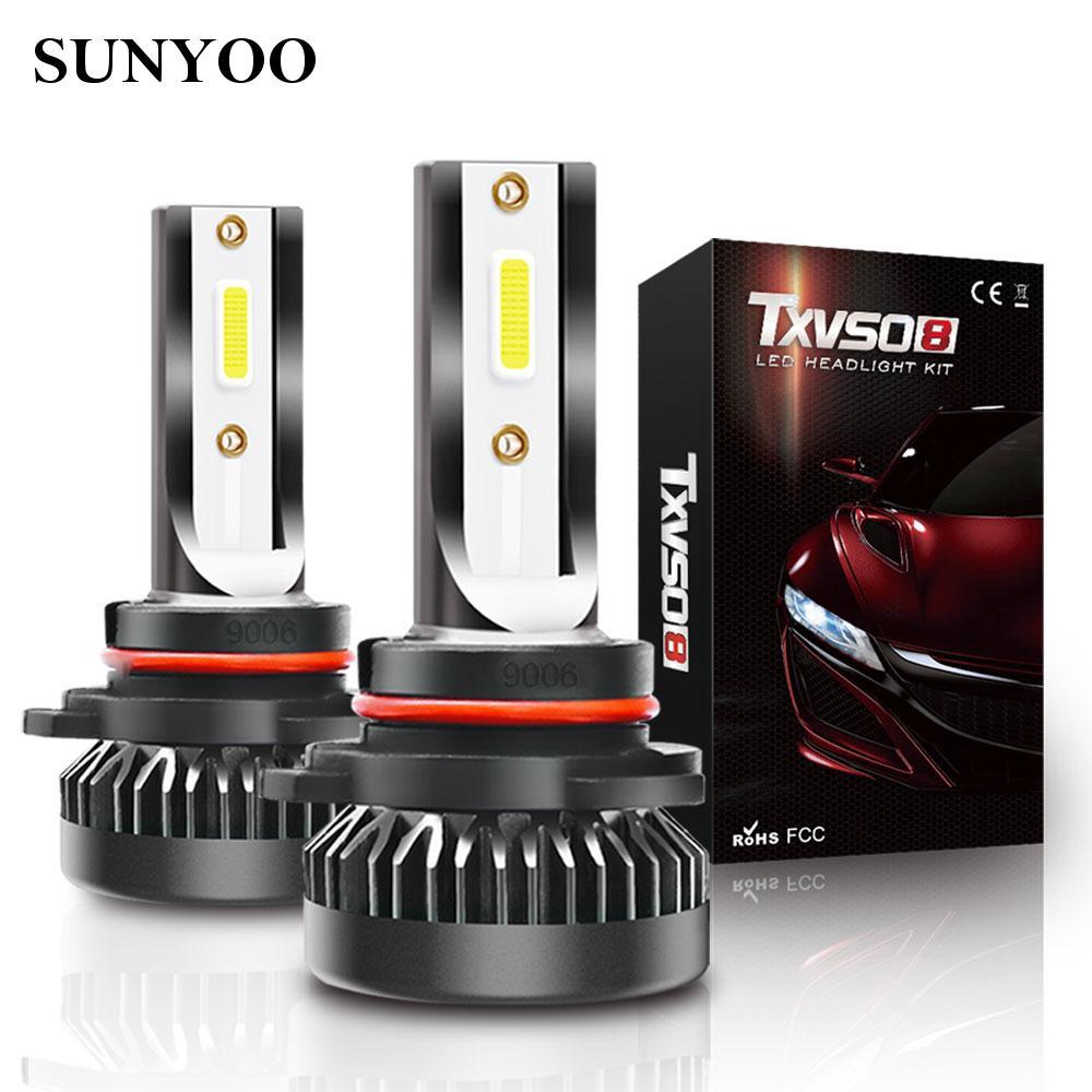 G2 9006/HB4 Fog Light 6000K White Mini 8000LM LED Headlights Bulbs For Cars Chic
