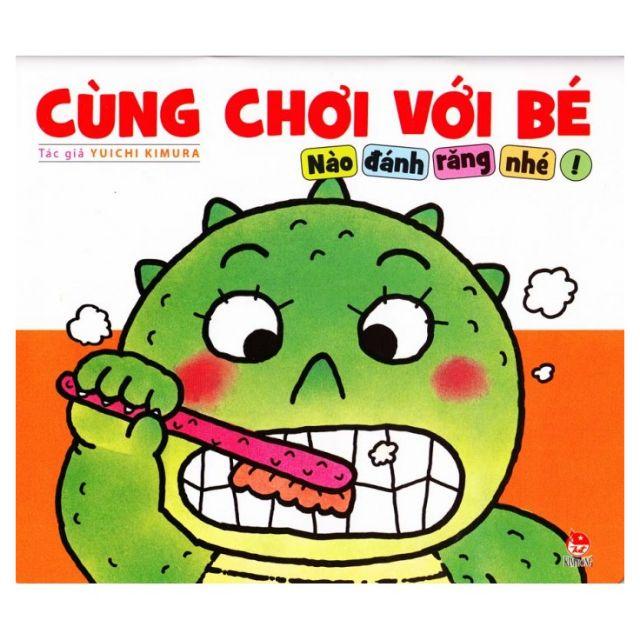 Sách Cùng chơi với bé - Cùng đánh răng nào