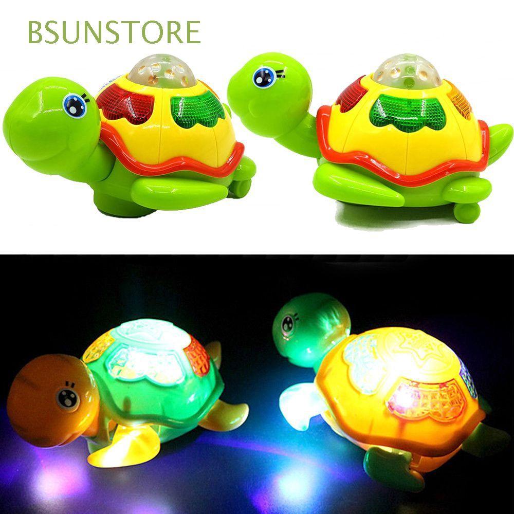Color Random Fashion Funny Magic Toddler Infant Kids Gift Musical Tortoise