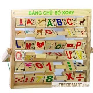 Bảng chữ cái tiếng Việt xoay
