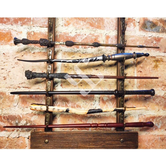 Đũa phép Harry Potter | Đũa thần cao cấp lõi sắt chống gãy (Tặng kèm vé Platform 9 1/4)