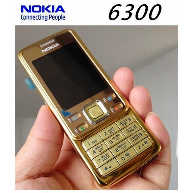 [SALE 10%] Điện thoại Nokia 6300 vàng mới 99% chính hãng
