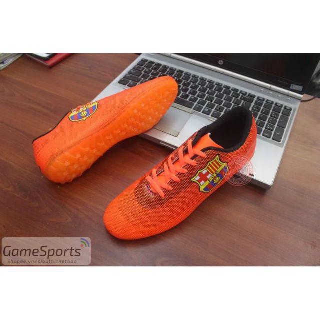 Giầy đá bóng CLB BC01 đỏ cam