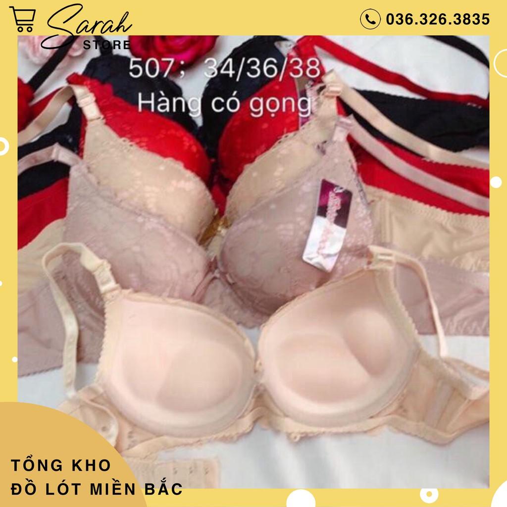 [Có Video]  Áo Ngực 507 Thái Lan Nâng Đẩy Ngực.