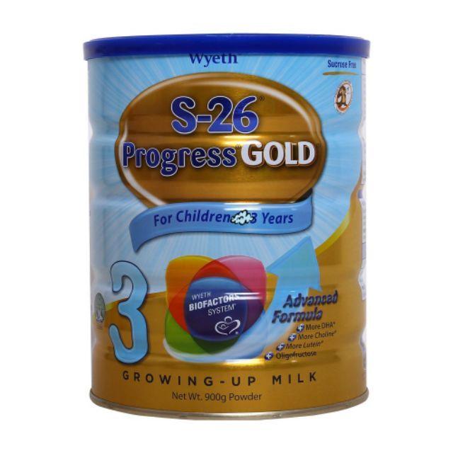 ( NHẬP TKBSB15K giảm 15k ) Sữa bột S26 Số 3 900g ( Singgapore )