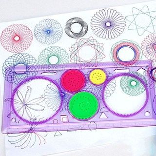1pc Spirograph Geometric Ruler Stencil Spiral Art Classic Toy Stationery