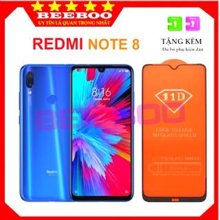 Kính cường lực Redmi Note 8 – Siêu chuẩn 11D – Full màn hình và Trong suốt – Độ cứng 9H [FreeShip_50K]