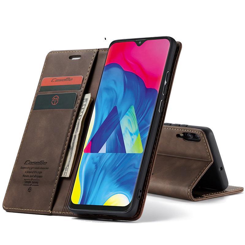 Bao điện thoại da PU kiểu ví nắp lật cho Samsung Galaxy S10 Plus S10E S10 5G S8 S9 Plus