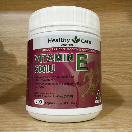 Healthy care Vitamin E 500IU- 200 viên - 2486481 , 276486783 , 322_276486783 , 430000 , Healthy-care-Vitamin-E-500IU-200-vien-322_276486783 , shopee.vn , Healthy care Vitamin E 500IU- 200 viên