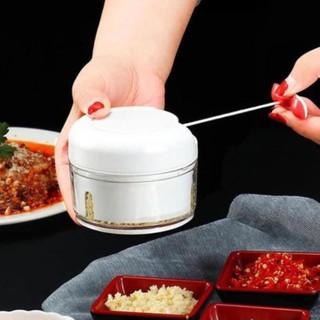 Đồ Băm Thực Phẩm Bằng Tay Mini - Máy Cắt Thịt Bằng Dây Kéo Mạnh Mẽ Nhanh Và Tiện Lợi thumbnail