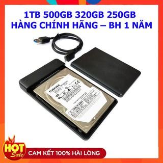 [Mã ELORDER5 giảm 10K đơn 20K] Ổ cứng di động 1TB 500GB 320GB 250GB 3.0 Kèm cáp