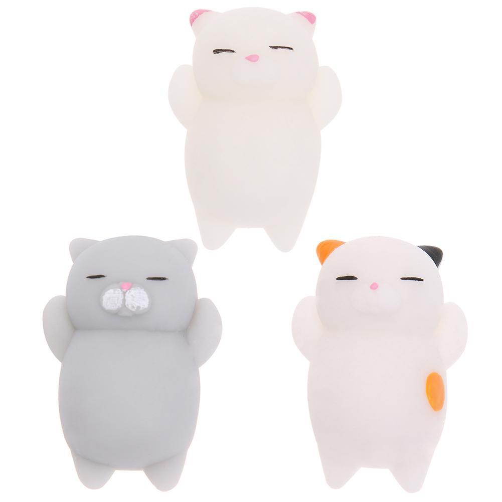 Đồ chơi Squishy hình mèo đáng yêu giúp giảm stress