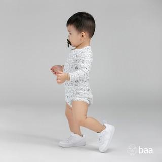Romper sơ sinh BAA BABY dài tay cho bé trai - BN-RP01D