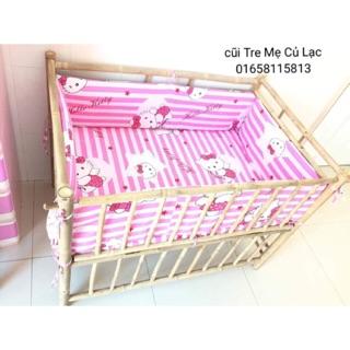 nôi – cũi – giường ngủ cho bé – #cũi 3 tầng – #cũi 3 trong 1 – #cũi tre