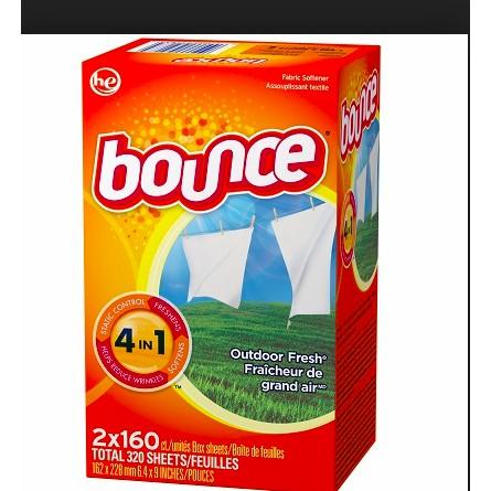 Giấy thơm bounce 240 tờ của Mỹ