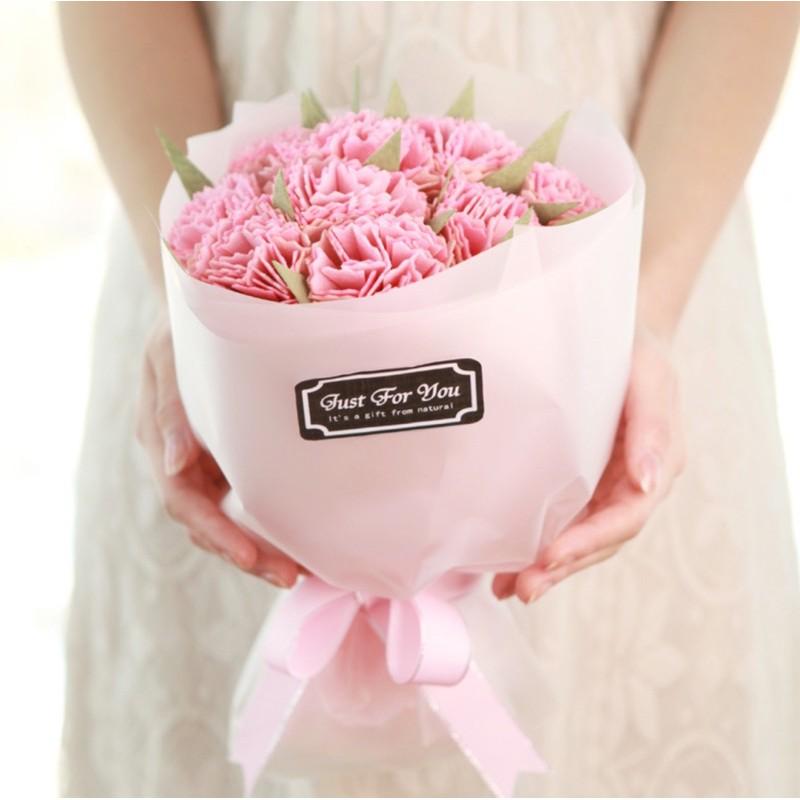 DIY gói nguyên liệu làm bó hoa nhỏ xinh