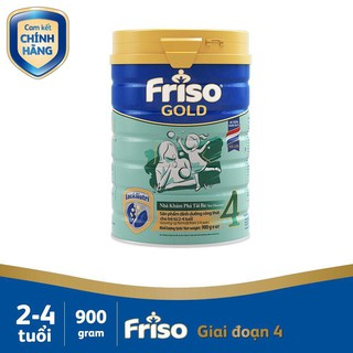 (HCM) Sữa bột Frisolac Gold 4 lon 900g