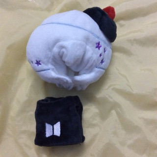 OUTFIT LIGHTSTICK ARMY BOMB BTS DOLL15CM