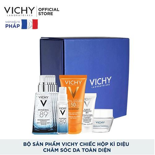 [CHÍNH HÃNG] Bộ sản phẩm Vichy chiếc hộp kì diệu chăm sóc da toàn diện