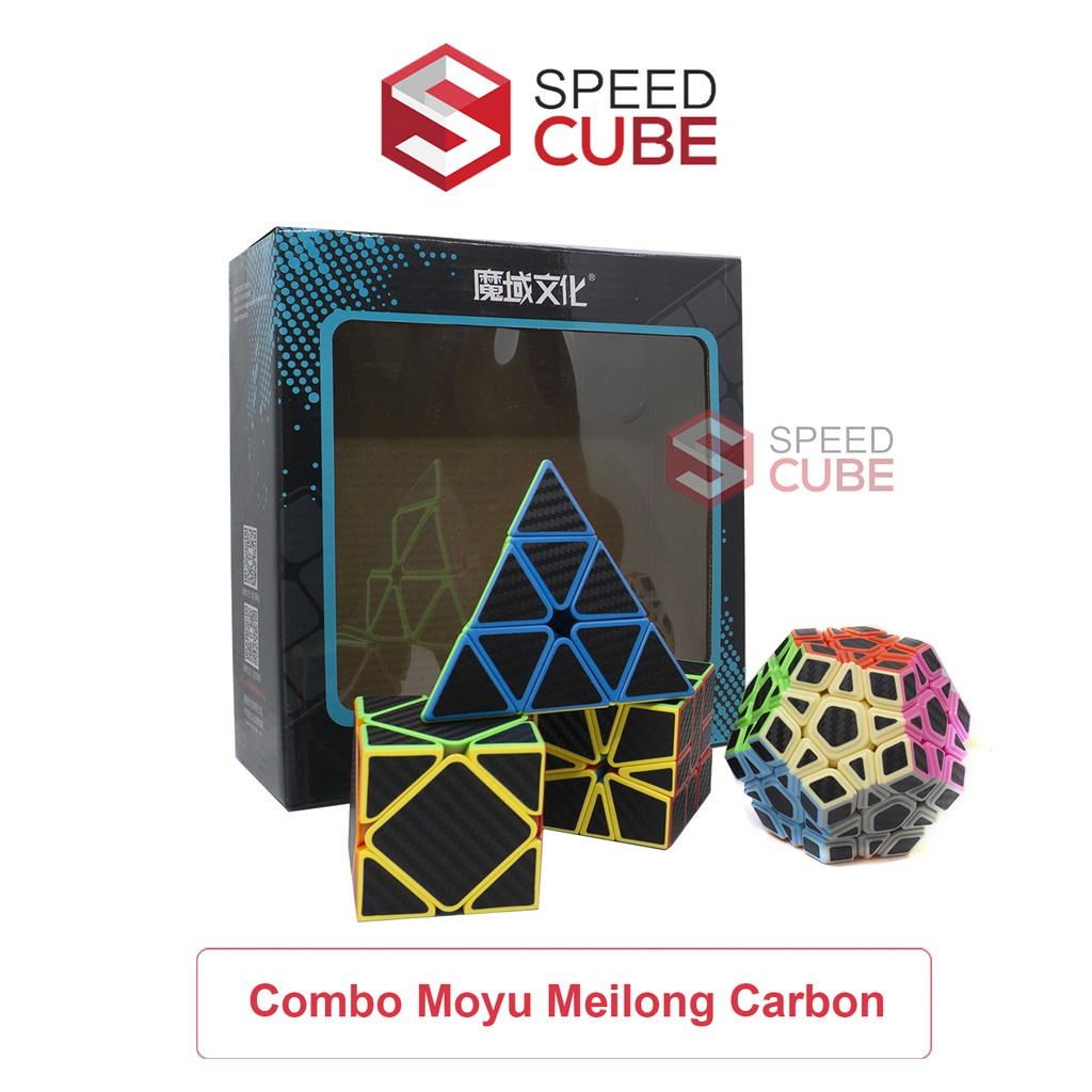 Combo Rubik Biến Thể Pyramix/SQ1/Skewb/Megaminx MoYu MeiLong, Rubik Moyu Chính Hãng – Shop Speed Cube