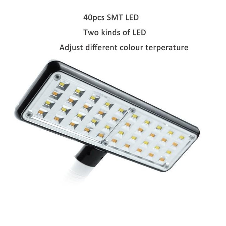 Đèn Led Bàn 2 Chế Độ Sáng Trắng Và Vàng MZX-861 Pin Sạc | Shopee Việt Nam
