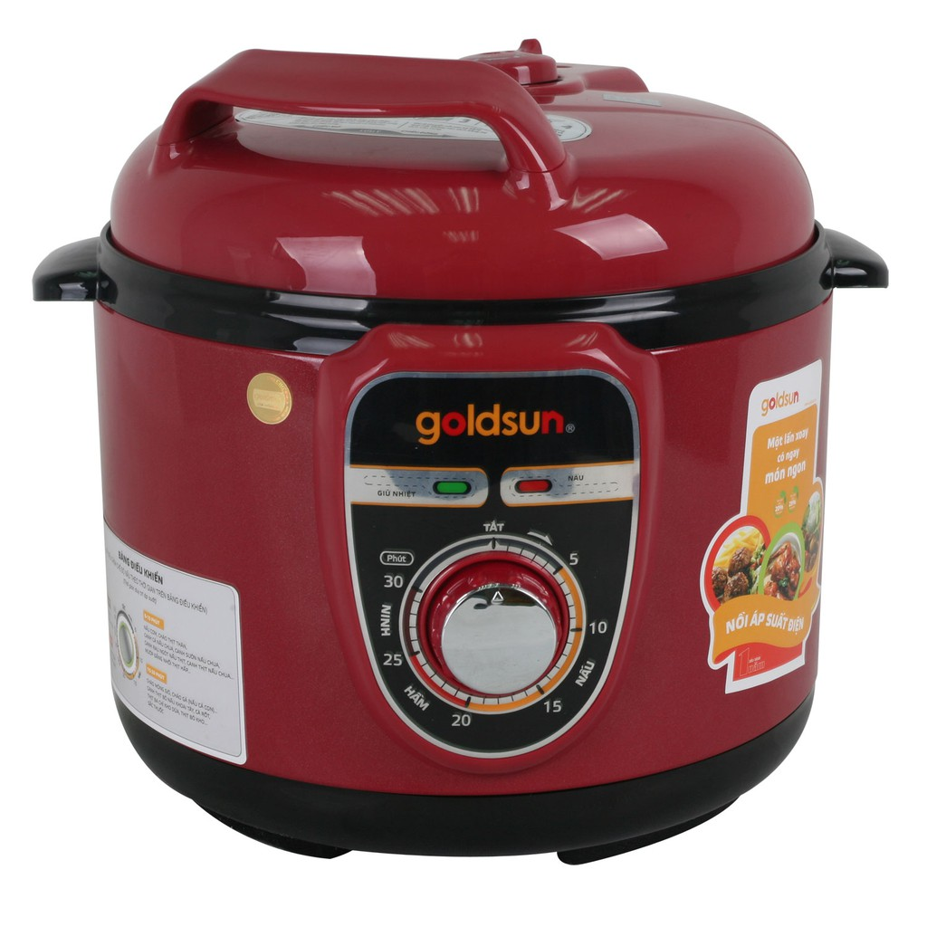 Nồi áp suất điện đa năng Goldsun 5 lít EP-GBK50P