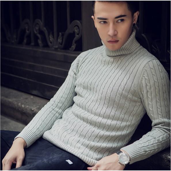 Áo len nam cao cổ chất đẹp