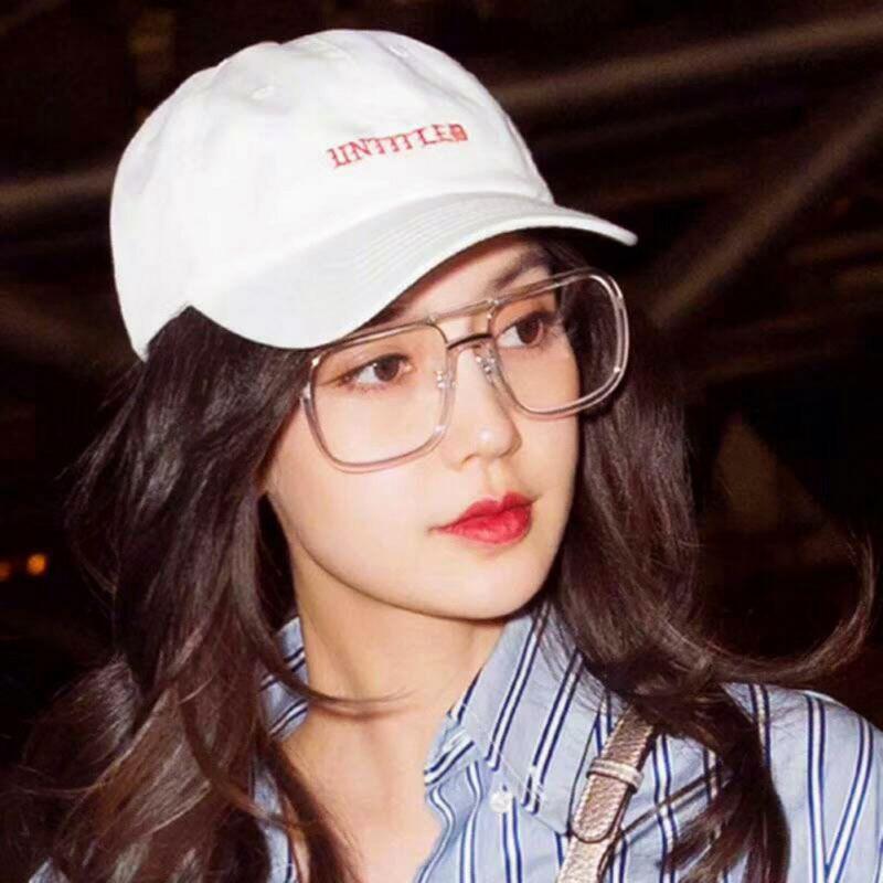 Mắt kính bản to thiết kế đơn giản cho nữ