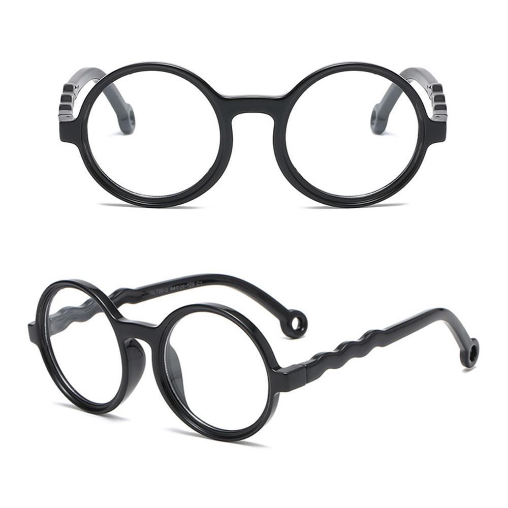 👗KAREN💍 Age 3-10 Blue Light Glasses for Kids Silicone Frame TV Phone Glasses Blue Light Blocking Glasses Anti-eyestrain UV400 Protection...