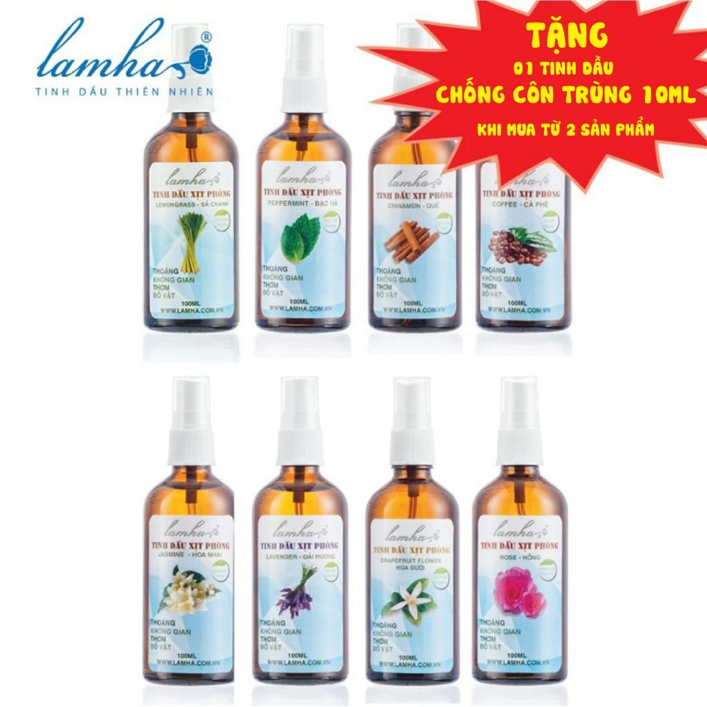 Tinh dầu xịt phòng LAMHA 100ml