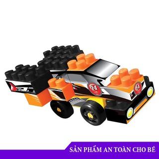 Đồ chơi ghép hình Bộ sưu tập 4 siêu xe – Đồ chơi an toàn cho bé