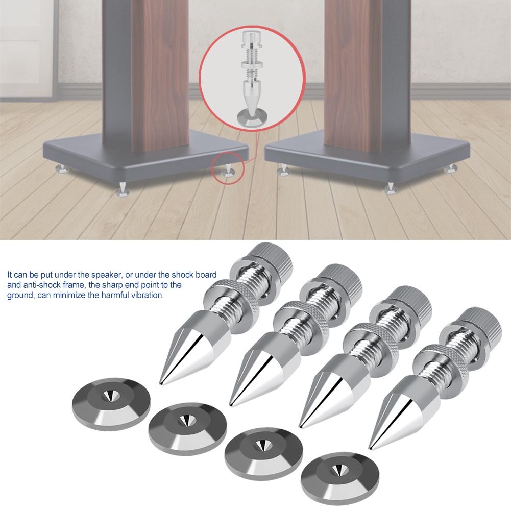 Spikes Stand Foot HiFi Speaker Shockproof Cone Base Pads - 23066660 , 1618894292 , 322_1618894292 , 312000 , Spikes-Stand-Foot-HiFi-Speaker-Shockproof-Cone-Base-Pads-322_1618894292 , shopee.vn , Spikes Stand Foot HiFi Speaker Shockproof Cone Base Pads