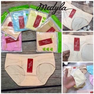 [Xả kho] Quần lót bầu kháng khuẩn nâng mông- Quần chip bầu cotton cạp chéo Mỗi quần 1 túi zip Medyla onhacoShopee
