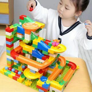 Bộ lego xếp hình máng trượt(54-248pcs)