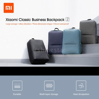 Xiaomi Youpin Classic Business Backpack 18L Capacity 4 Level Durable Waterproof 15.6Inch Laptop Bag Unisex Shoulder Bag