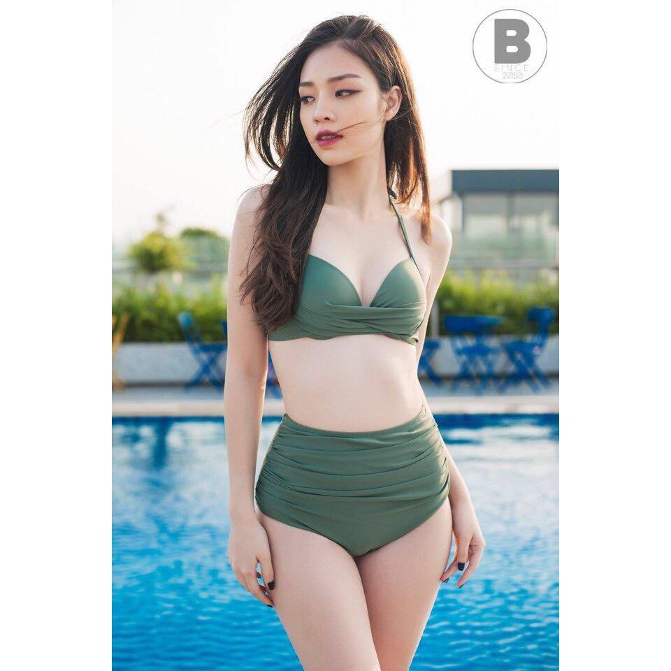 Bikini 2 mảnh áo xoắn ngực đỏ ( Kèm ảnh feedback) | WebRaoVat