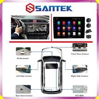 Bộ kết hợp màn hình DVD Android và Camera 360 độ 2 trong 1, chuẩn AHD dùng cho các loại xe ô tô – Bảo Hành Chính Hãng