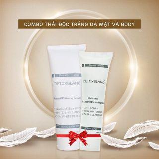 Bộ Đôi Detox Blanc thải độc face&body thumbnail
