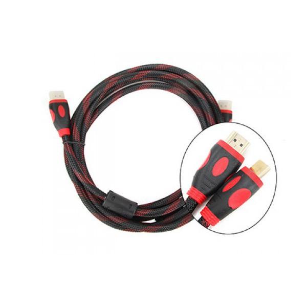 HDMI 5m tròn bọc lưới chống nhiễu full hd bảo hành đổi mới 06 tháng