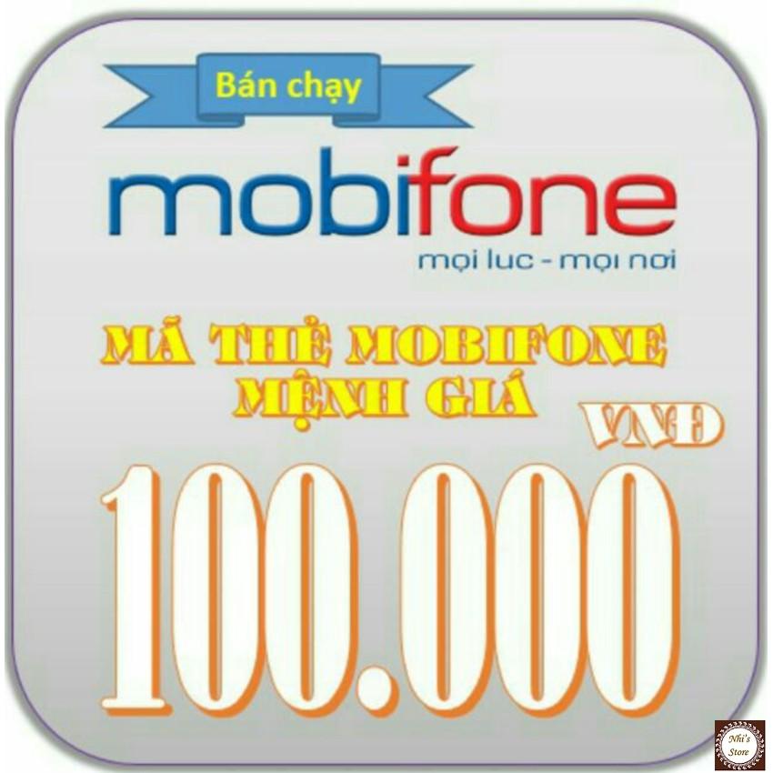 Mã thẻ Mobi 100k (Mobifone 100.000đ) - 3004928 , 323819050 , 322_323819050 , 92000 , Ma-the-Mobi-100k-Mobifone-100.000d-322_323819050 , shopee.vn , Mã thẻ Mobi 100k (Mobifone 100.000đ)