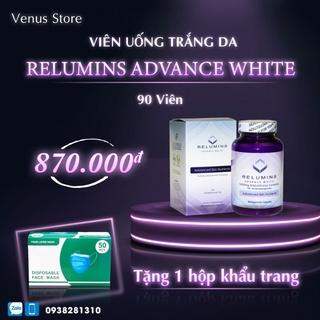 Relumins Advance White 1650mg Glutathione Viên Uống Trắng Da 90v thumbnail