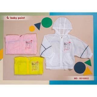 [Mã KIDMALL15 hoàn 15% xu đơn 150K] Áo khoác gió chống nắng BabyPoint, cản bụi 8016802