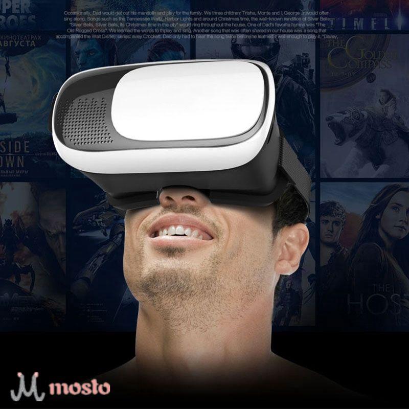 [mosto sale] Headset 3D VR Glasses Google Cardboard Virtual Reality Glasses VR BOX