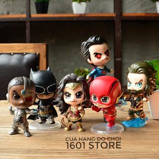 Đồ chơi mô hình 6 siêu anh hùng Justice League (Liên Minh Công Lý) – JULE0001