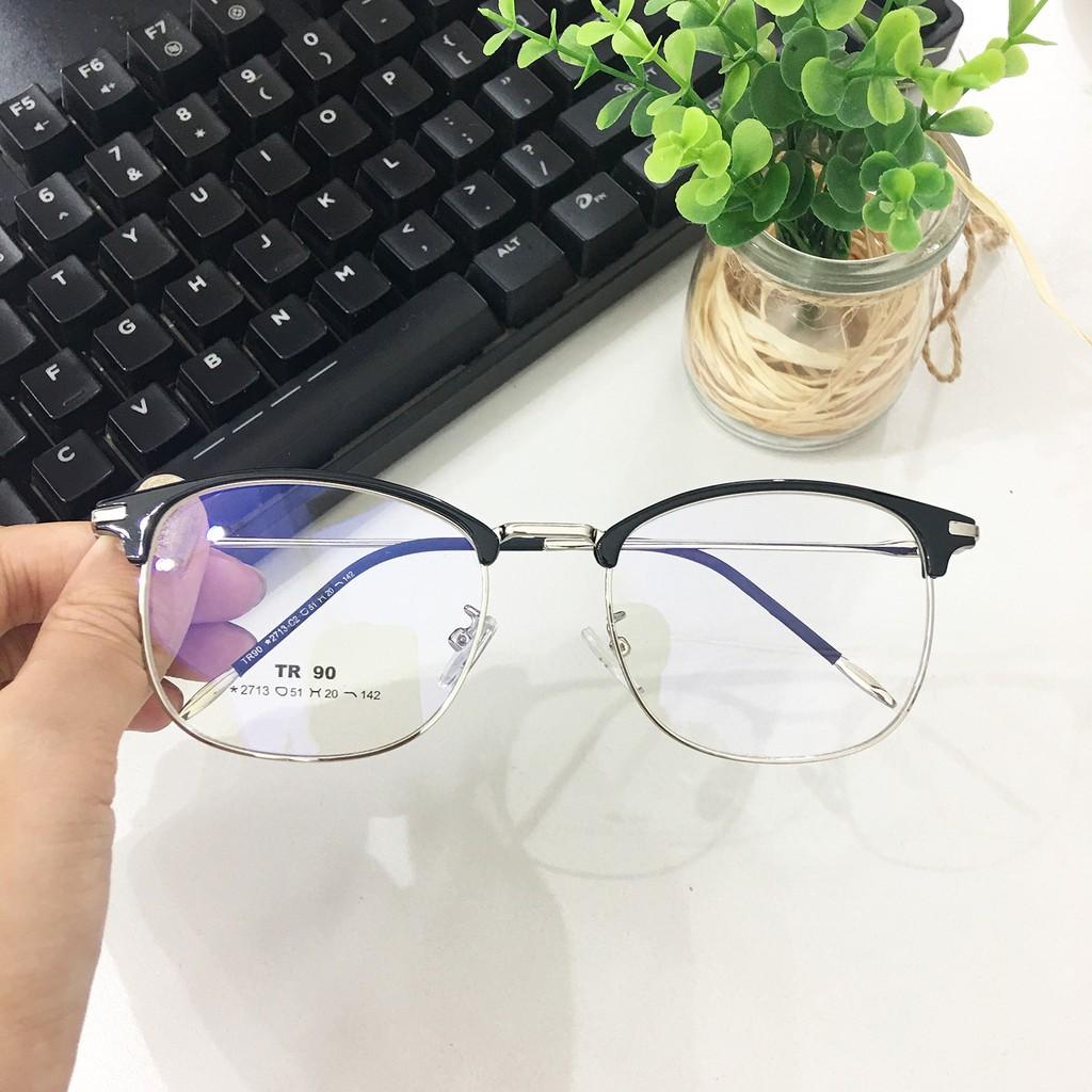 Gọng Kính Kim Loại Unisex 2713 - SALE UP TO 50%