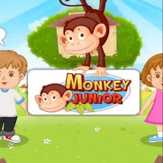 Monkey Junior cho bé 02 năm
