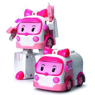 – Đồ chơi biến hình biệt đội xe robocar Poli 2 trong 1