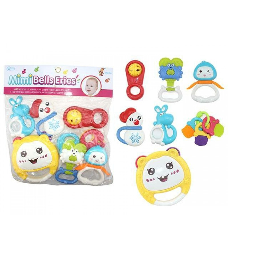 Toys House - Túi đồ chơi xúc xắc 7 món-776-27