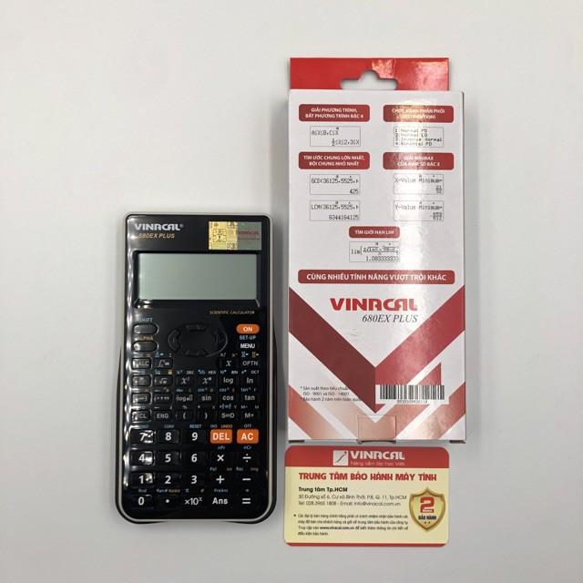 Máy Tính Vinacal 680EX Plus - Chính Hãng (Bảo Hành 2 Năm)